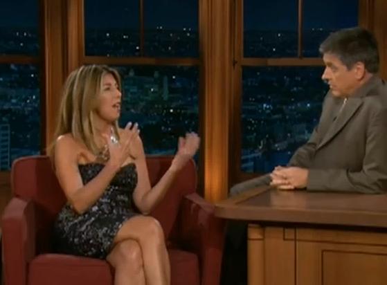 Nina Garcia On Late Late Show With Craig Ferguson