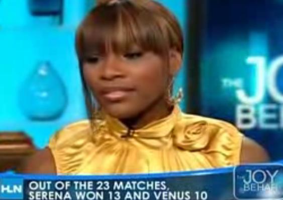 Serena Williams Talks With Joy Behar