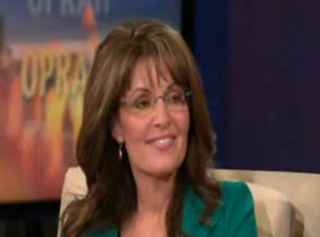 Sarah Palin Interview On Oprah Winfrey Show