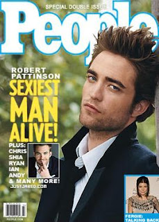 Robert Pattinson Named People Magazine Sexiest Man Alive 2009