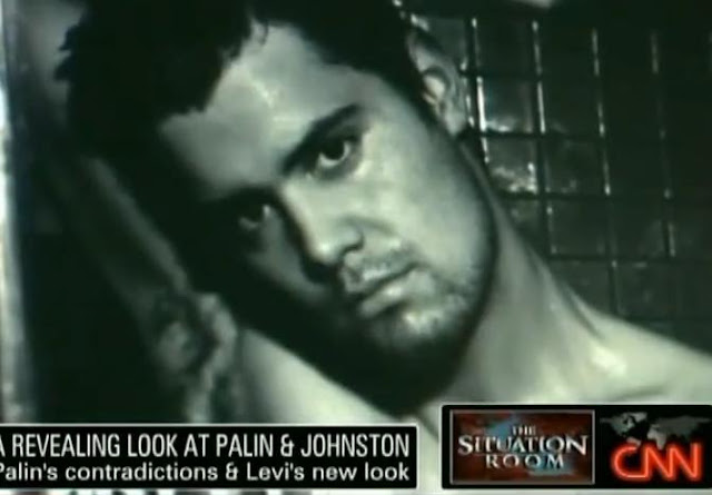 CNN Reports Levi Johnston Playgirl Shoot