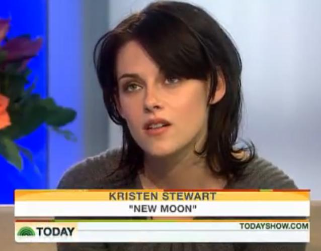 Kristen Stewart On Today Show