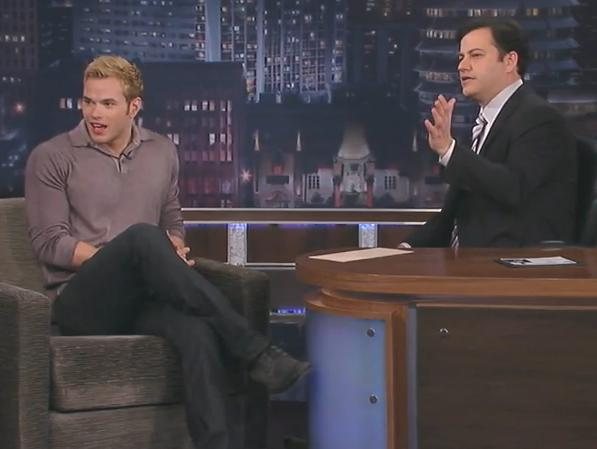 Kellan Lutz Interviews On Jimmy Kimmel Live