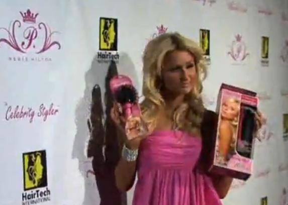 Paris Hilton Launches 'Ultimate Brush' And 'Celebrity Styler' Hair Products