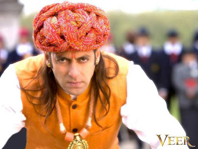 wallpaper of salman khan in veer. movie veer salman khan