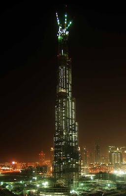 Burj Dubai, World Tallest Building In Dubai