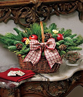 christmas-flower-basket
