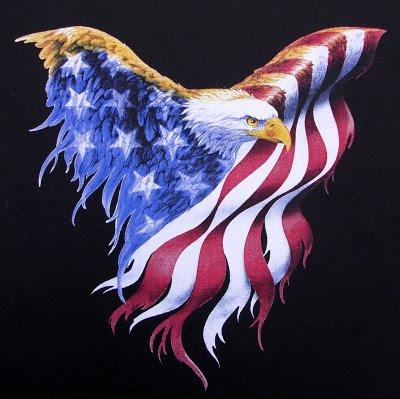 american flag clip art. Free Patriotic Eagle Clipart