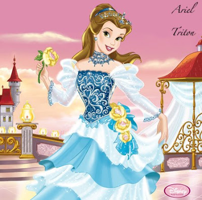 disney princesses coloring pages belle. Disney Princess Belle Clip Art