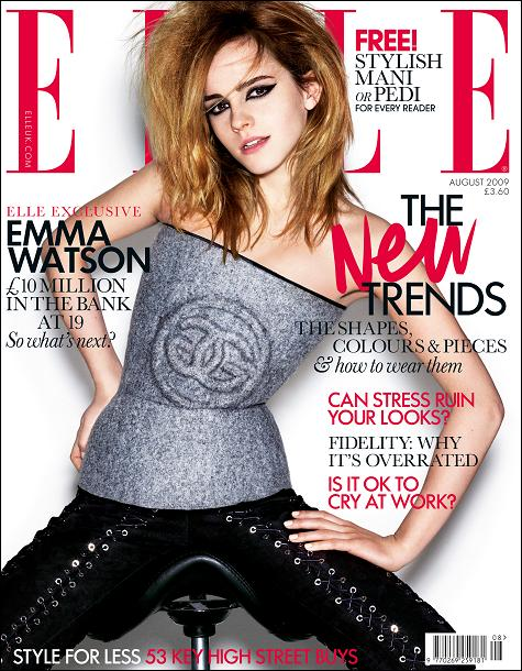 A really good article, essay-style Emma Watson on style, styling,