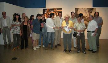 Amigos del Puente, Museo Quinquela. Maria Sabato dando por inaugurada la muestra.
