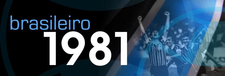 Grêmio Campeão Brasileiro 1981