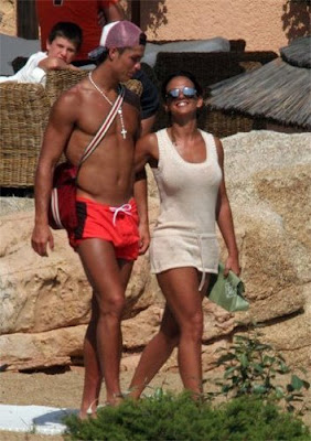 Cristiano Ronaldo and Nereida Gallardo
