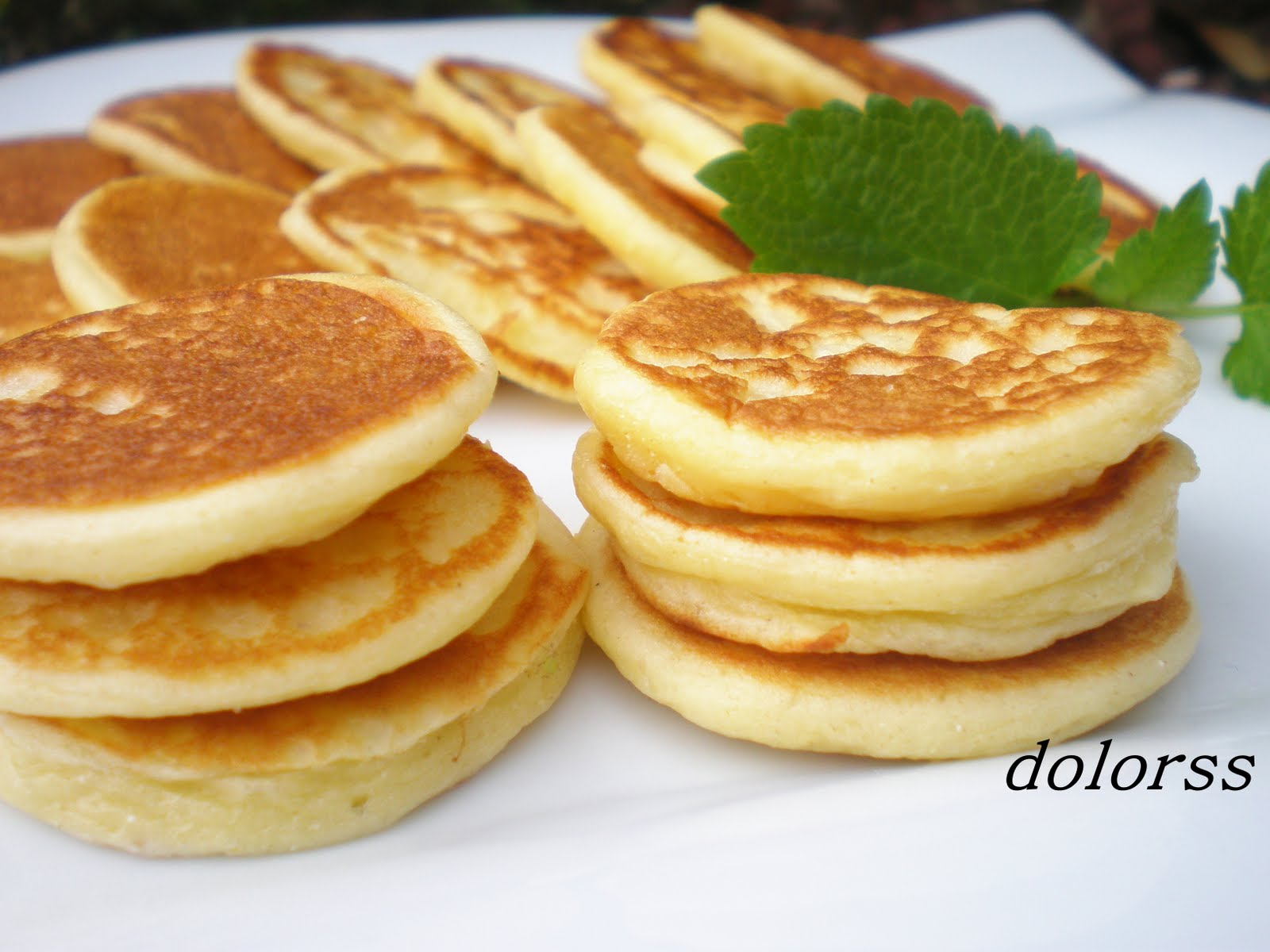 Blinis ! panqueques gorditos ! SUper faciles