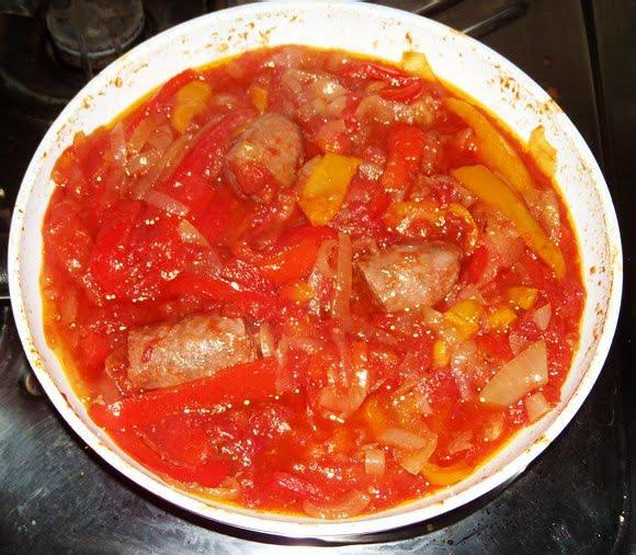 with peperonata baked chicken meatballs with peperonata peperonata ...
