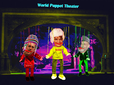 Palin Puppet Theater copyright 2008 Cosanostradamus blog me no blogs