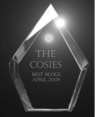 THECOSIESbestblogsAPRIL2009 Copyright 2009 Cosanostradamus blog me no blogs