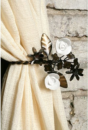 Curtains Ideas anthropologie curtain tie backs : Pocket Full of Cupcakes: DIY..what? Like it's hard?