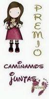 """PREMIO: """"CAMINAMOS JUNT@s"""""""