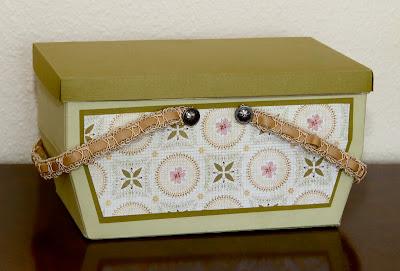Handmade Recipe Box