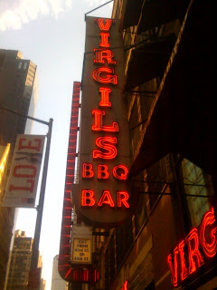 Virgil's Bar-b-Q, Times Square, NYC