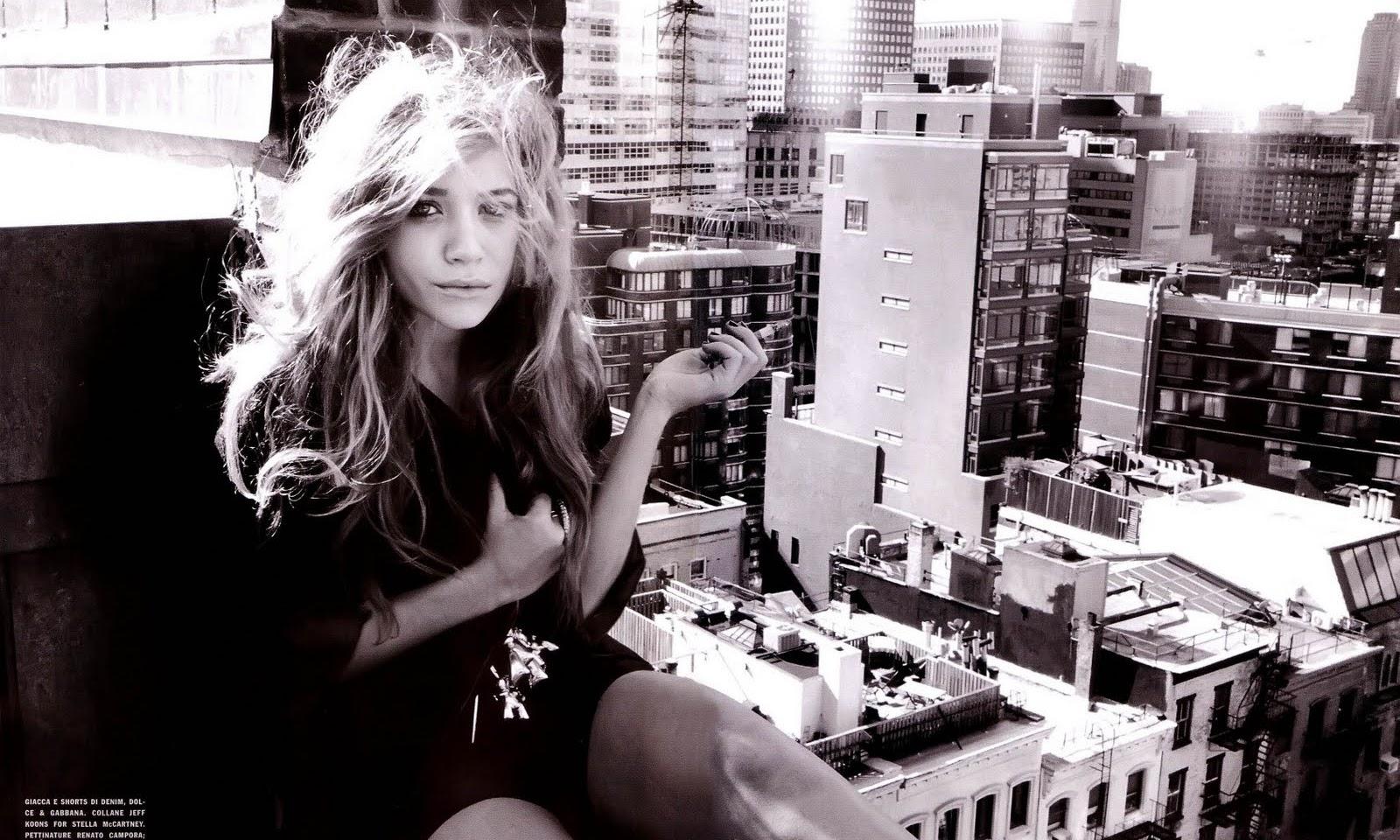 Vogue Italia Mary-Kate Olsen