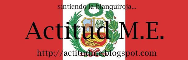 Actitud M.E.