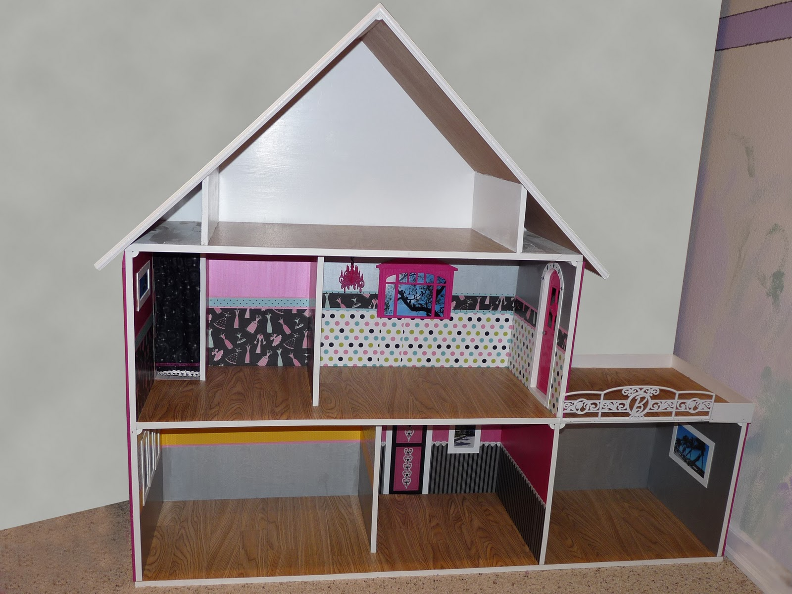 Barbie Doll House Plans Free http://mommysmagicalmountain.blogspot.com ...