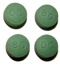 oxycontin 80 mg op.