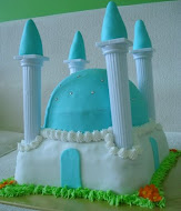 Mosque Cake