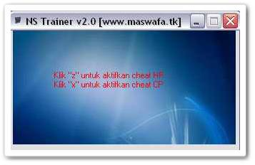 cheat ninja saga ns trainer unlimited hp cp maswafa 2011