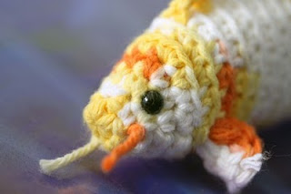 koi fish crochet sustainable