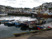 Brixham, a fishing village across the bay from Torquay