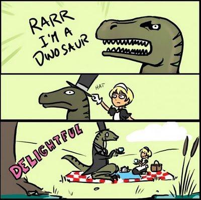 RARR I'M A DINOSAUR