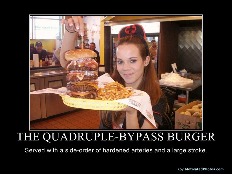 The Quadruple Bypass Burger