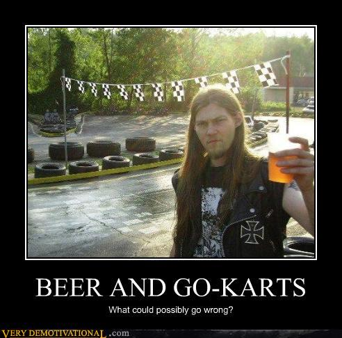 Beer and Go Karts