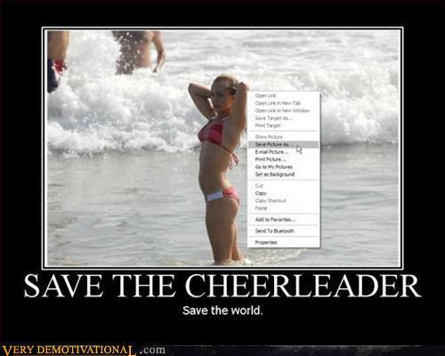 Save the Cheerleader