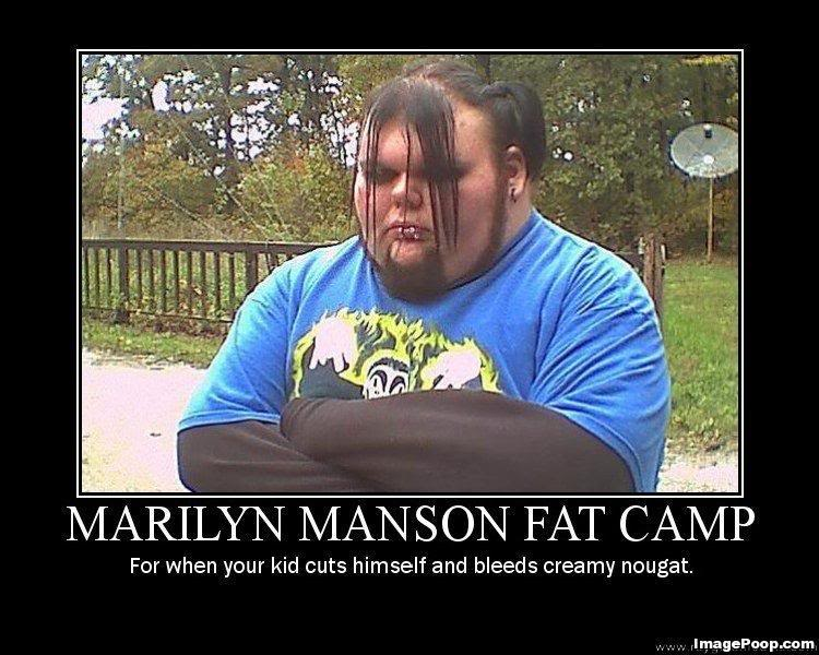 Marilyn Manson Fat Camp