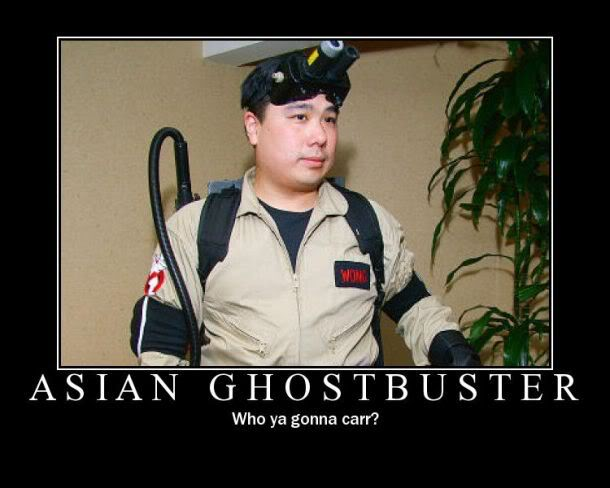Asian Ghostbuster
