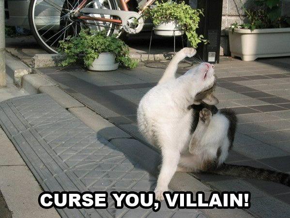Curse You, Villain
