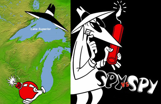 Lake Superior Vs Spy