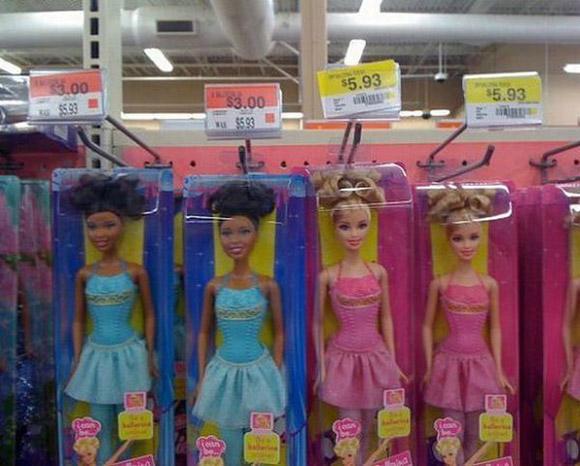 Racist Barbie