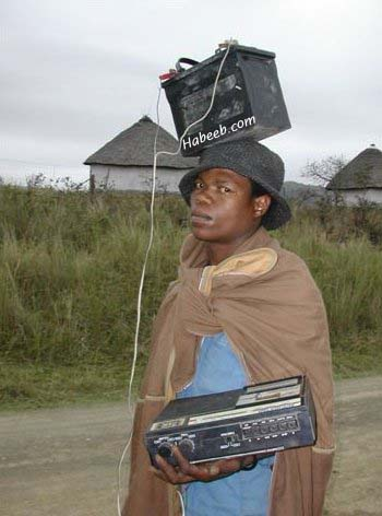 Third World Portable Radio