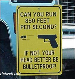 Your Head Better Be Bulletproof