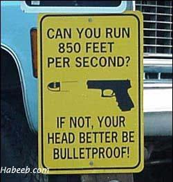 Your Head Better Be Bulletproof