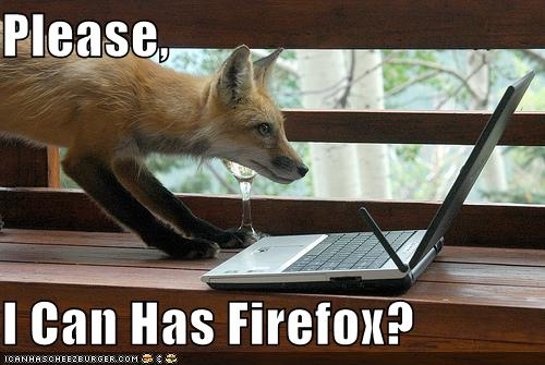 Please, I Can Has Firefox