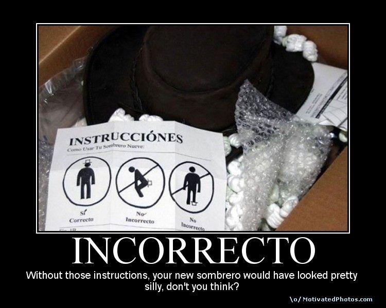 INCORRECTO