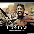 LEONIDAS - Motivational Poster