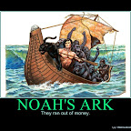 NOAH'S ARK - Motivational Poster