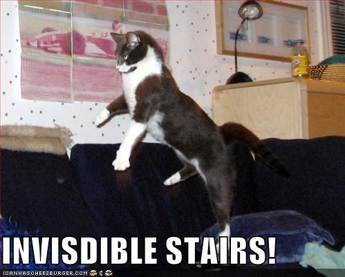 INVISDIBLE STAIRS